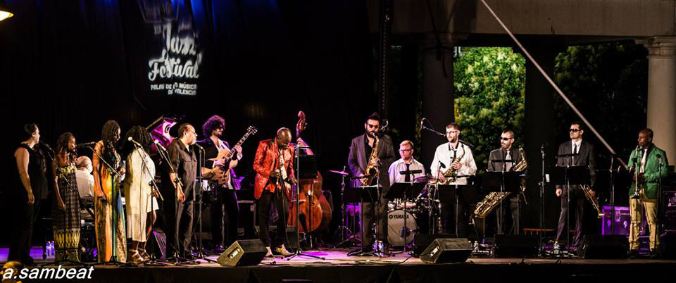 Jazz Festival at Jardines del Palau de la Música, Valencia