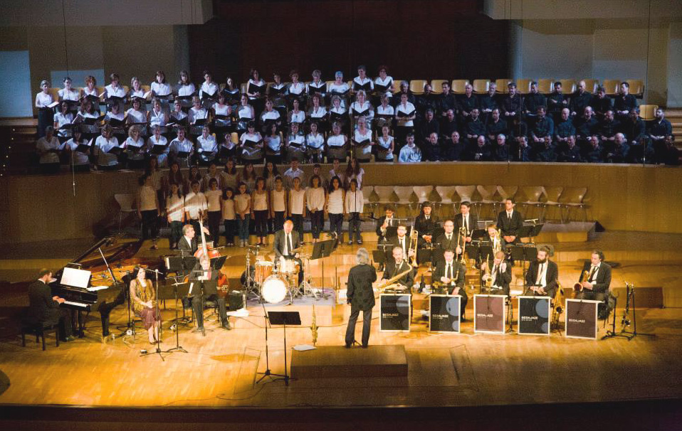 Sedajazz orchestra + choir