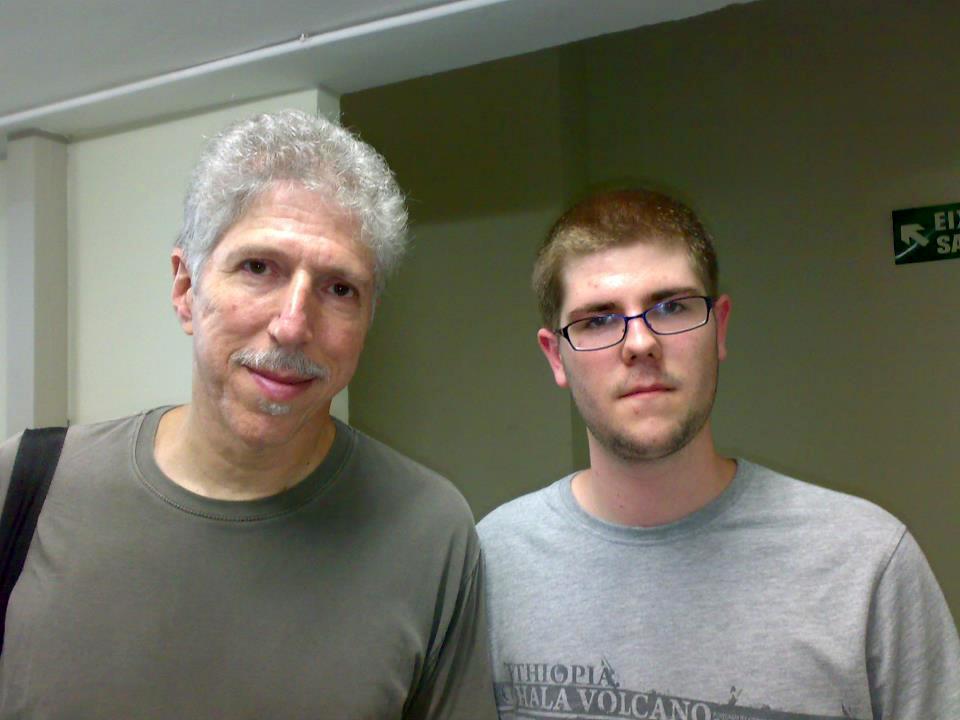 Bob Mintzer y Víctor Jiménez