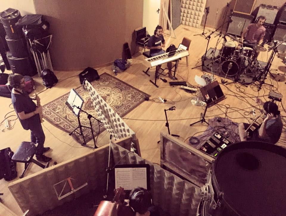 Grabación con Iván